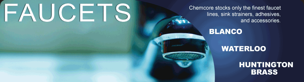Chemcore Industries - Sinks and More - Aqueous Faucets